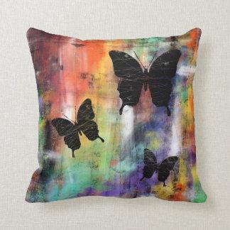 Tres mariposas libres almohadas