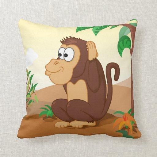 Tres monos sabios 3/3 que oyen almohadas