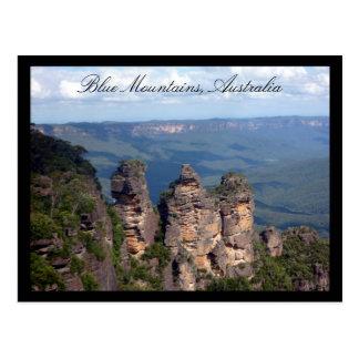 tres montañas de las hermanas postales