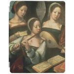Tres músicos cubierta de iPad