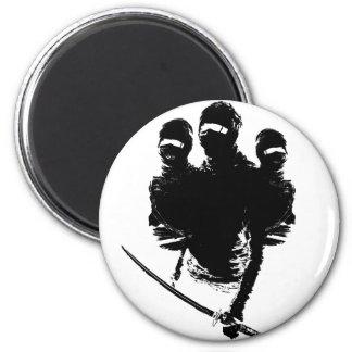 tres ninjas fridge magnet