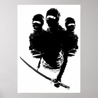 tres ninjas posters