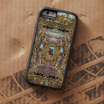 Très orné Elegant Monogram Tough Xtreme iPhone 6 Case