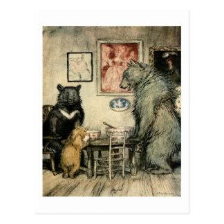 Tres osos postales