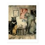 Tres osos tarjetas postales