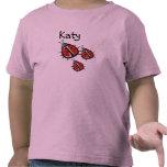 Tres pequeña mariquita modificada para requisitos camisetas