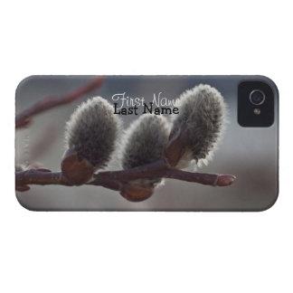 Tres pequeños Catkins; Personalizable iPhone 4 Carcasas