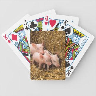 Tres pequeños cerdos baraja
