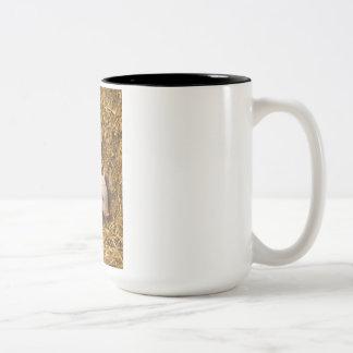 Tres pequeños cerdos tazas de café