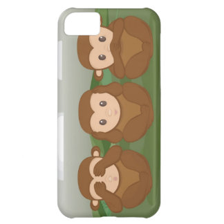 Tres pequeños monos