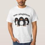 Tres Pingüinos Playera
