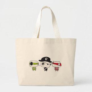 Tres piratas bolsa