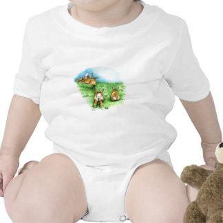 Tres poco Binkies Trajes De Bebé