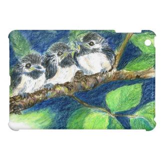 Tres Polluelo-uno-Dees - lápiz de la acuarela iPad Mini Cobertura