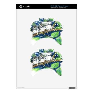 Tres Polluelo-uno-Dees - lápiz de la acuarela Mando Xbox 360 Skin