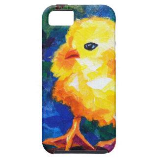Tres polluelos profundamente en la conversación iPhone 5 protector