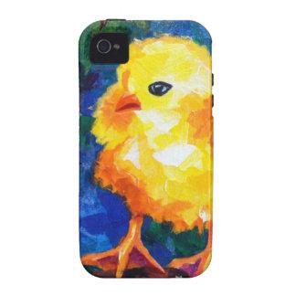 Tres polluelos profundamente en la conversación vibe iPhone 4 fundas