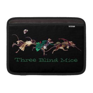 Tres ratones ciegos funda para macbook air