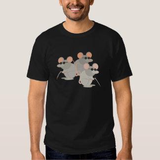 Tres ratones ciegos poleras