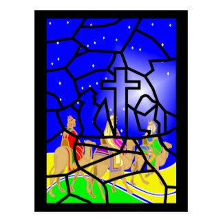 Tres reyes Christmas Postcard Tarjetas Postales