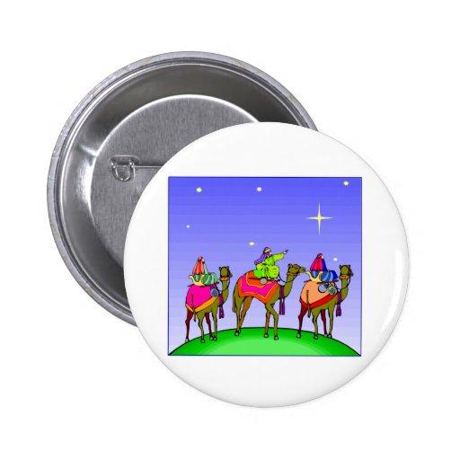 Tres reyes Follow Star Pin