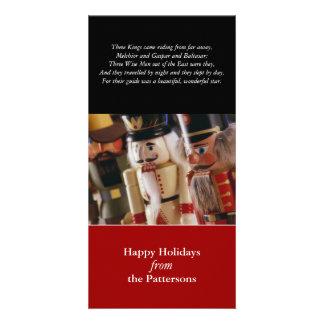 Tres reyes Holiday Card Tarjetas Personales