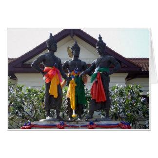 Tres reyes Monument Tarjeta De Felicitación