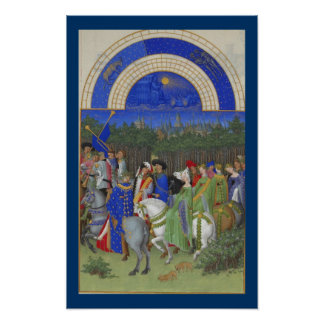 Très Riches Heures - May Poster