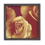 tres rosas cajas de recuerdo de calidad