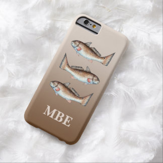 Tres salmones funda para iPhone 6 barely there