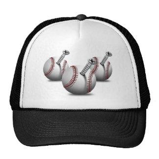 Tres screwedballs gorros