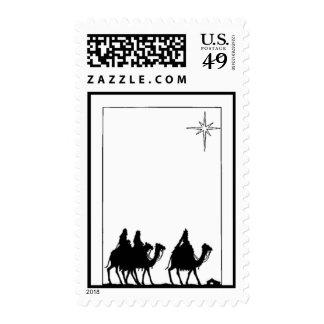 Tres sellos del navidad de los hombres sabios