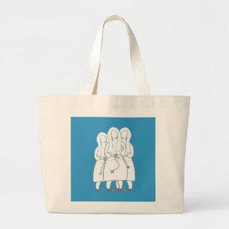 Tres tarjetas dibujadas del arte de las monjas (pl bolsa