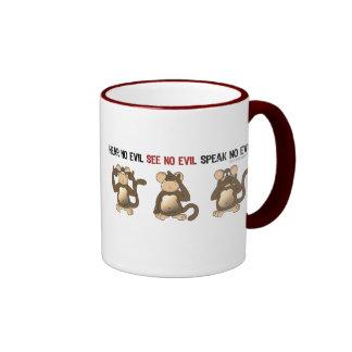 Tres tazas sabias de los monos