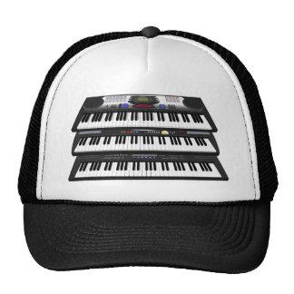 Tres teclados modernos: Sintetizadores: Gorro