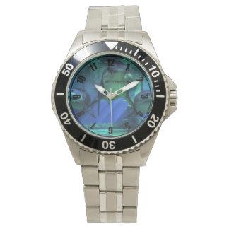 Tres tiburones relojes de pulsera