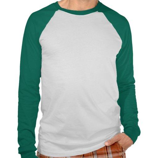 Tres tréboles camiseta