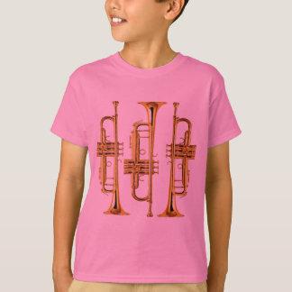 Tres trompetas playera