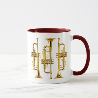 Tres trompetas taza