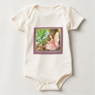 Tres veces son el encanto trajes de bebé
