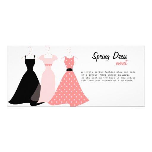 Tres vestidos plantillas de lonas