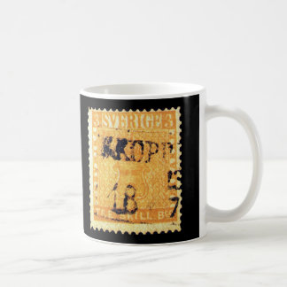 Treskilling Yellow of Sweden Sverige 3 Cent Stamp Coffee Mug