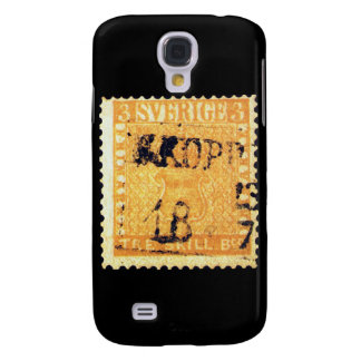 Treskilling Yellow of Sweden Sverige 3 Cent Stamp Galaxy S4 Cover