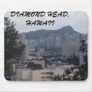 TRESMARIE 031, DIAMOND HEAD, HAWAII MOUSE PAD