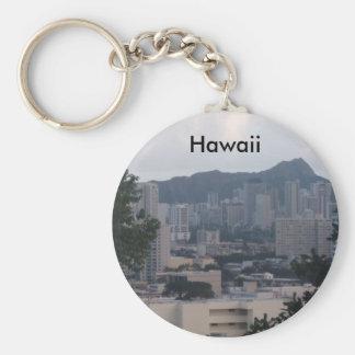 TRESMARIE 031, Hawaii Basic Round Button Keychain