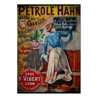 Tresor des Cheveux Vintage Antiseptic Ad Large Business Cards (Pack Of 100)