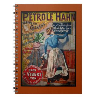 Tresor des Cheveux Vintage Antiseptic Ad Notebook