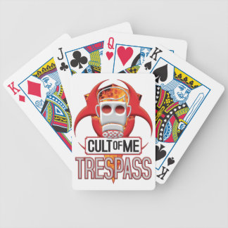 TRESPRESS Cult of Me Bicycle Poker Cards