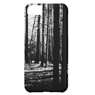 Tress oscuro del verde de la selva del bosque carcasa para iPhone 5C