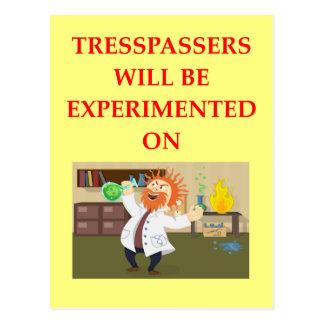 TRESSPASSER POSTCARD